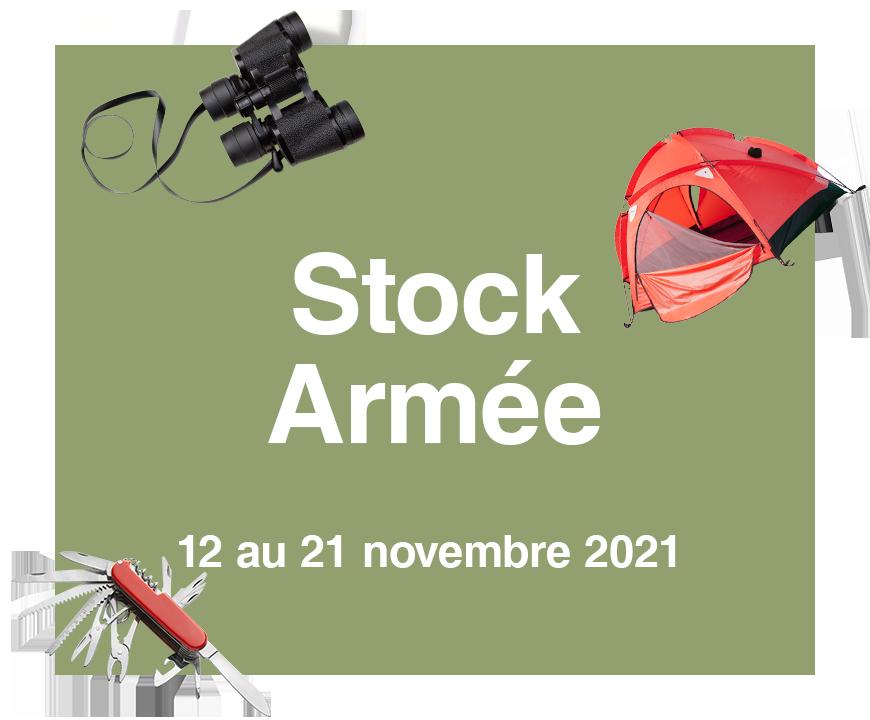 Vignette Stock Armée 2021