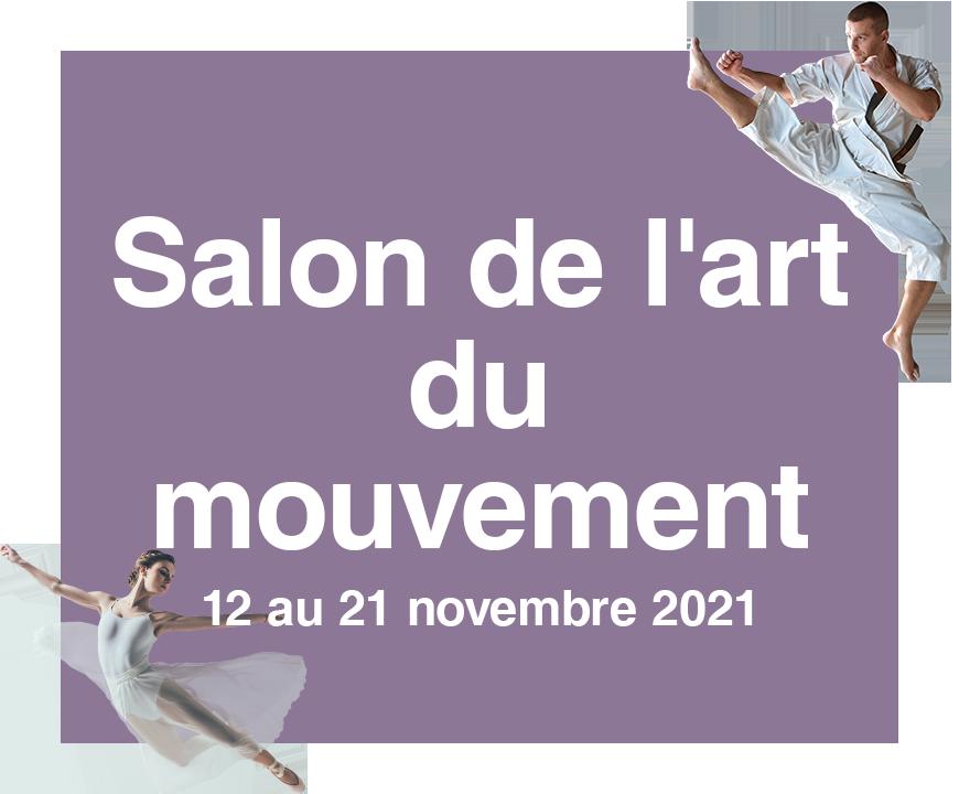 Vignette du Salon de l'art du mouvement 2021