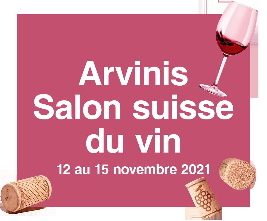 Vignette Arvinis, Salon suisse du vin