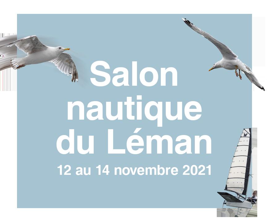 Vignette du salon nautique du Léman 2021