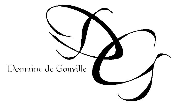 logo domaine de gonville noir