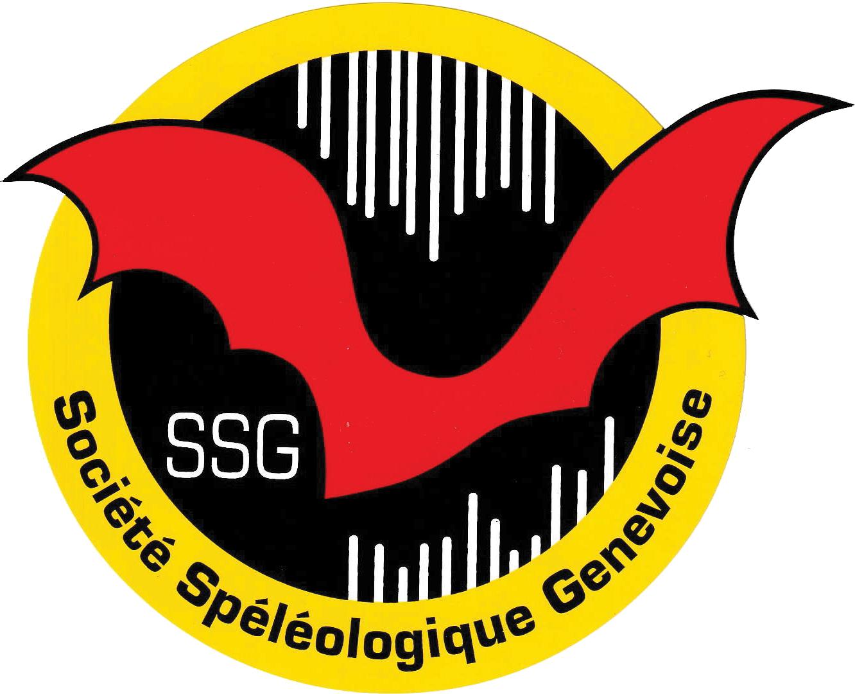 Logo de la Société Spéléologique Genevoise couleur