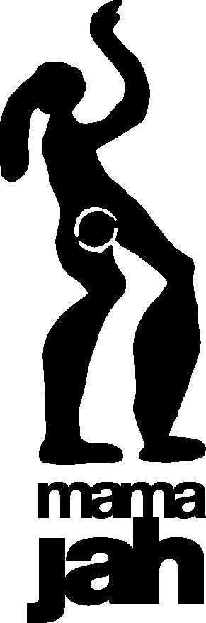 logo mamajah noir
