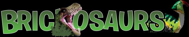 Logo Brickosaurs Exposition Bricklive