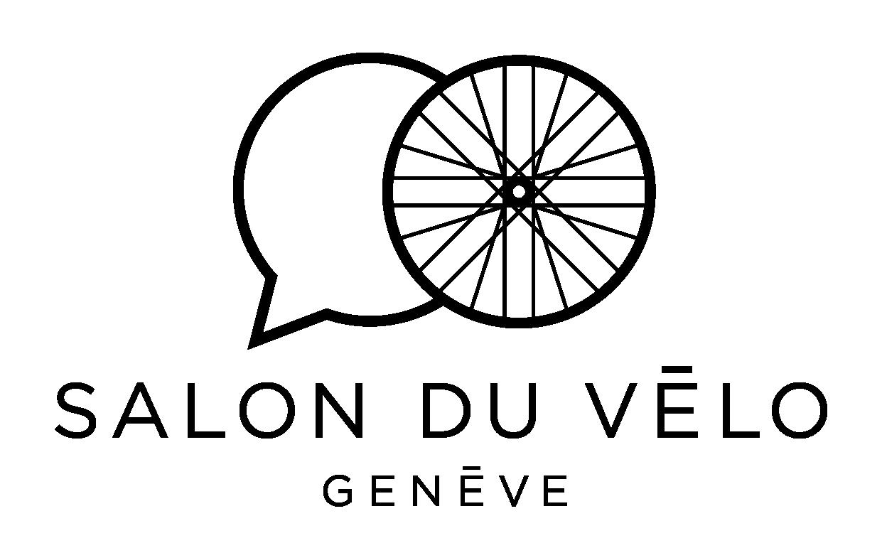 logo salon du velo genève noir